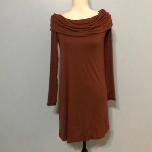 Women's Small long sleeved rust colored tunic